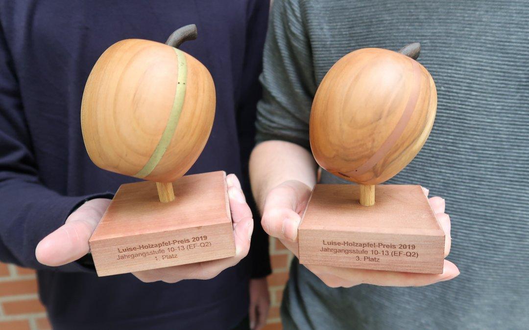 """""""Warum ist Sand im Essen""""? –  Gesamtschule Bad Driburg gewinnt den Luise-Holzapfel-Preis in doppelter Ausführung"""