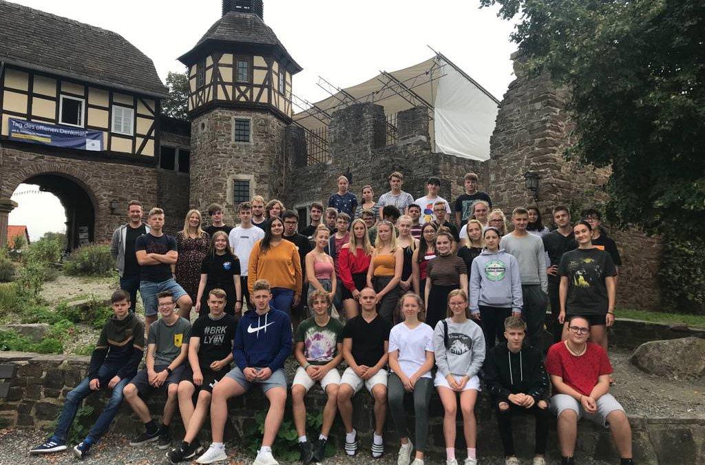 Gemeinsamer Start in die Oberstufe –  3-tägige Kennenlernfahrt der EF im Wasserschloss Wülmersen