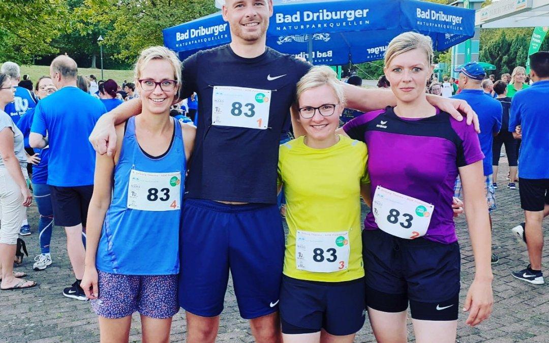 Gesamtschule Bad Driburg stellt schnellstes Team beim AOK-Firmenlauf