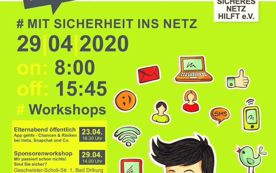 analog &digital: Mit Sicherheit ins Netz am 29. April 2020