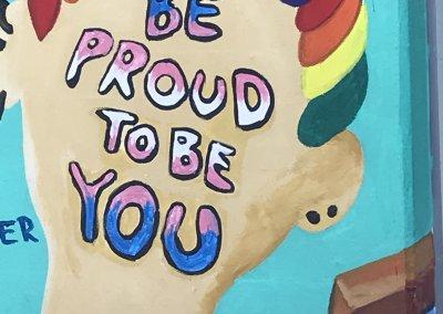 """""""Be proud to be you"""" - Das ganze Team wünscht euch für eure Zukunft alles Gute!"""