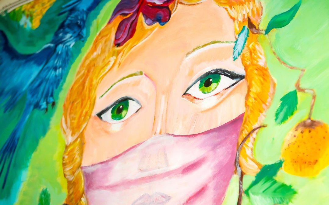 Meine Zeit mit Corona – Kunstinterpretationen von Schülern