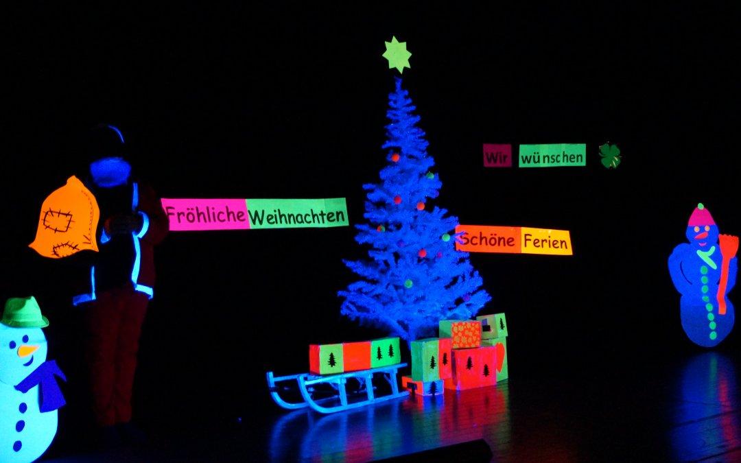 Schöne Ferien und frohe Weihnachten!