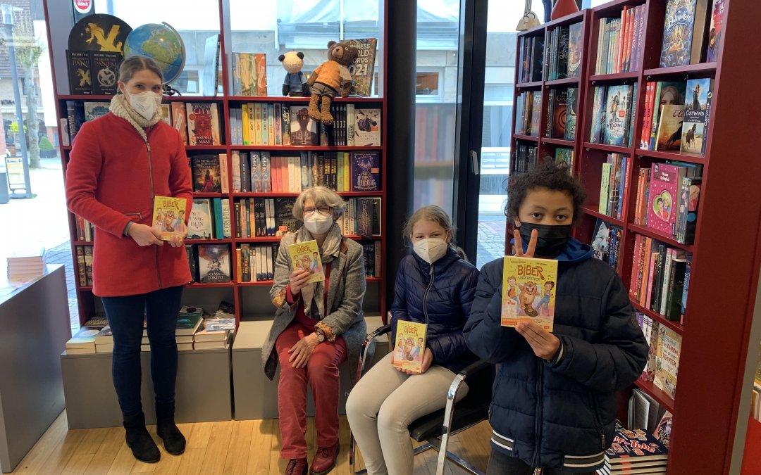 """Der """"Welttag des Buches"""" mit der Bücherei Saabel"""