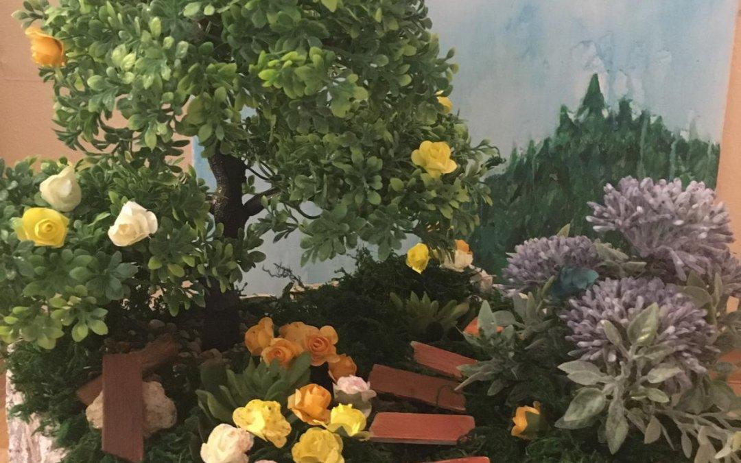 Wie sieht ein naturnaher und umweltfreundlicher Garten aus? DG-Kurs Schüler nehmen am Kreativ-Wettbewerb der Stadt Bad Driburg teil